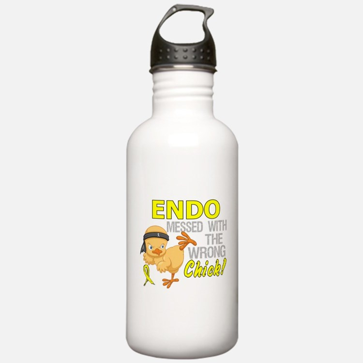 Messed With Wrong Chic Water Bottle
