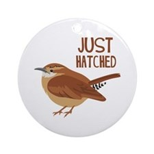 JUST HATCHED Ornament (Round)