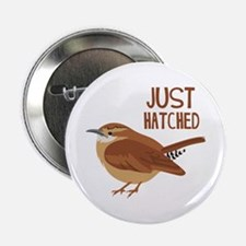 """JUST HATCHED 2.25"""" Button"""