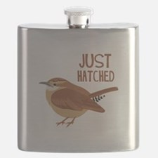 JUST HATCHED Flask
