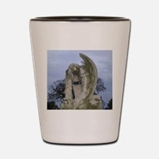 Weeping Angel Statue Shot Glass