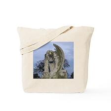 Weeping Angel Statue Tote Bag