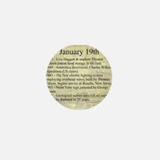 January 19th Mini Button