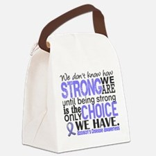 How Strong We Are Addison's Canvas Lunch Bag