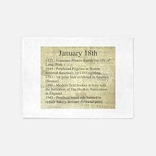 January 18th 5'x7'Area Rug