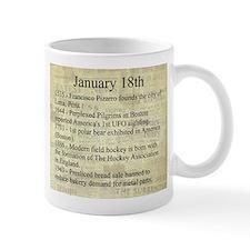 January 18th Mugs