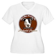 Piebald Porter Plus Size T-Shirt