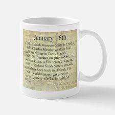January 16th Mugs