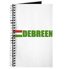 Debreen, Hungary Flag Journal