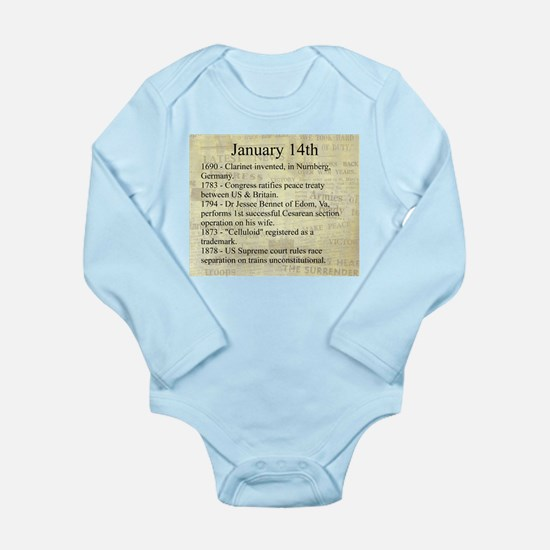 January 14th Body Suit