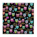 Owl Drink Coasters