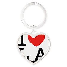 I Love L.A Heart Keychain
