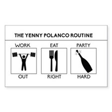 Yp Routine Decal