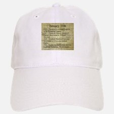 January 11th Baseball Baseball Baseball Cap
