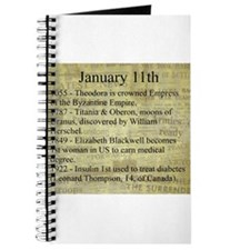January 11th Journal