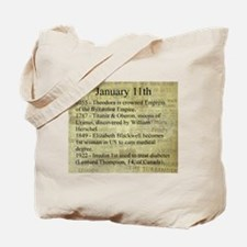January 11th Tote Bag