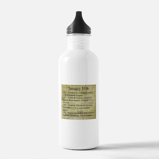 January 11th Water Bottle