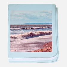 Crashing Waves baby blanket