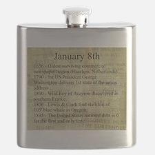 January 8th Flask