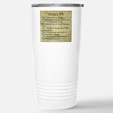 January 8th Travel Mug