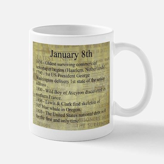 January 8th Mugs