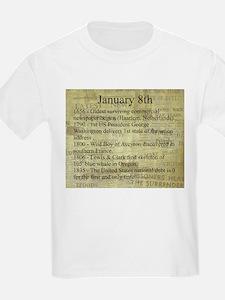 January 8th T-Shirt