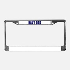 Unique Father License Plate Frame