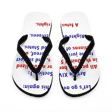 Citizenship Flip Flops