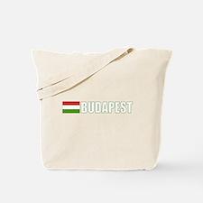 Budapest, Hungary Flag (Dark) Tote Bag