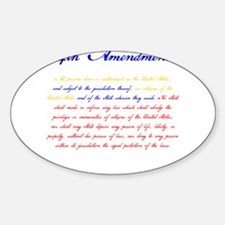 14th Amendment Decal