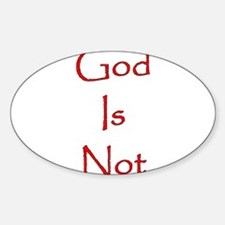 God Is Not Decal