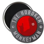 Hoboken Monkeyman Magnet