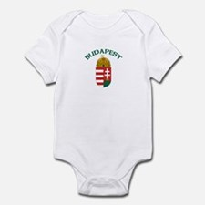 Budapest, Hungary Coat of Arm Infant Bodysuit