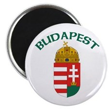 """Budapest, Hungary Coat of Arm 2.25"""" Magnet (10 pac"""