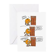 Orange You Glad Birthday Greeting Card