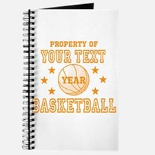 Personalized Property of Basketball Journal