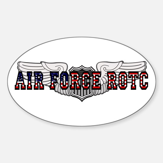 ROTC Pilot Wings Oval Bumper Stickers