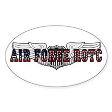 ROTC Pilot Wings Oval Decal