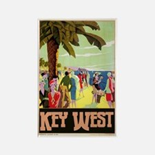 Key West Florida Rectangle Magnet