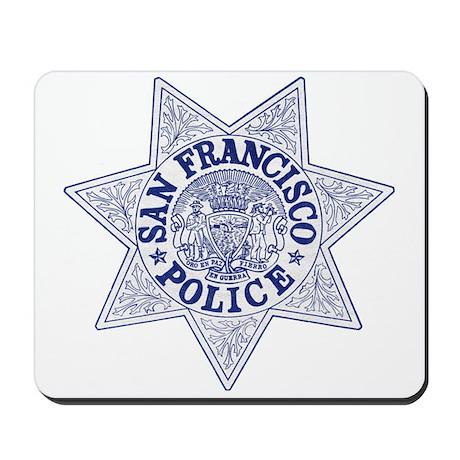 San Francisco Police Mousepad