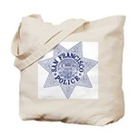 San Francisco Police Tote Bag
