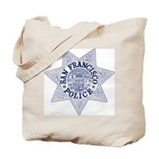 San Francisco Police Tote Bag