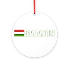 Balaton, Hungary Ornament (Round)