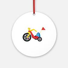 Big Wheel Ornament (Round)