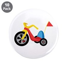 "Big Wheel 3.5"" Button (10 pack)"