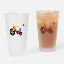 Big Wheel Drinking Glass