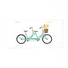 Tandem Bike Aluminum License Plate