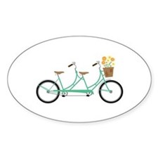 Tandem Bike Decal