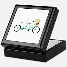 Tandem Bike Keepsake Box