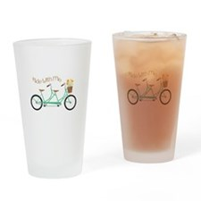 Ride With Me Drinking Glass